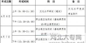 河北省2016年普通高职(专)院校学前教育类联考单招工作实施方案